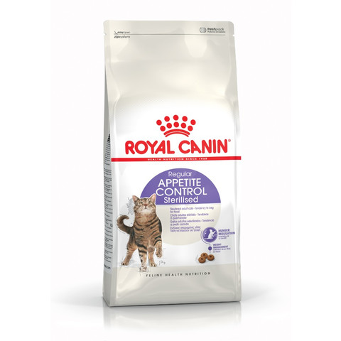 Royal Canin Regular Sterilised Appetite Control Adult Cat Food 400g To 4kg