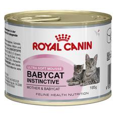 Royal Canin Babycat Instinctive Ultra Soft Mousse Kitten Food 12x195g