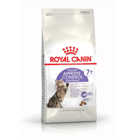 Royal Canin Regular Sterilised Appetite Control 7+ Senior Cat Food 400g To 3.5kg