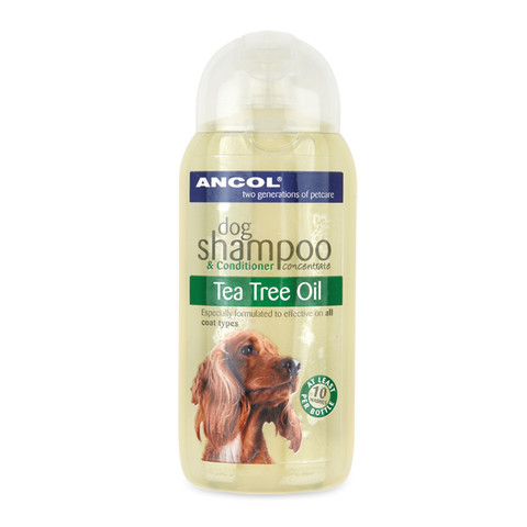 Ancol Tea Tree Oil Dog Shampoo 200ml To 6 X 200ml