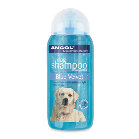 Ancol Blue Velvet Dog Shampoo 200ml To 6 X 200ml