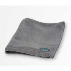 Gor Pets Fleece Pet Blanket In Grey 100x75cm To 150x100cm