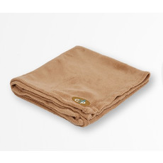 Gor Pets Fleece Pet Blanket In Beige 100x75cm To 150x100cm
