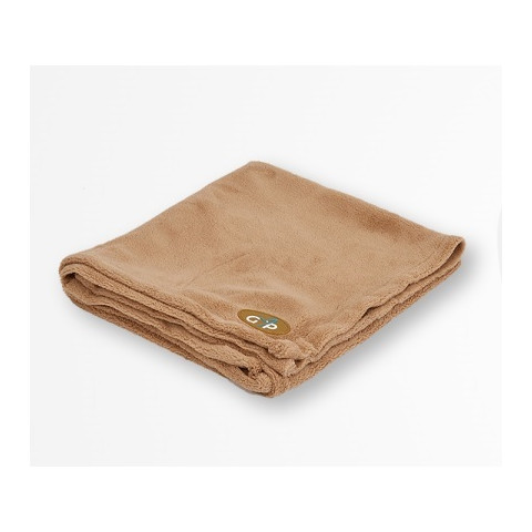 Gor Pets Fleece Pet Blanket In Beige 100x75cm To 150x100cm