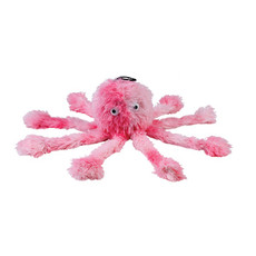 Soft Baby Octopus Dog Toy 25cm