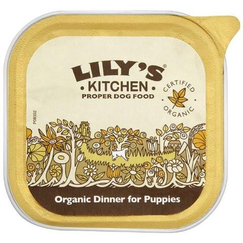 Lilys Kitchen Organic Dinner For Puppies 11 X 150g
