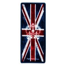 Pet Rebellion Stop Muddy Paws Patriotic Union Jack Non Slip Rug Doormat 45x100cm