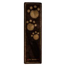 Pet Rebellion Stop Muddy Paws Dog Door Mat Runner Brown 45x150cm