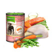 Natures Menu Natural Cans For Dogs With Chicken And Salmon 12 X 400g
