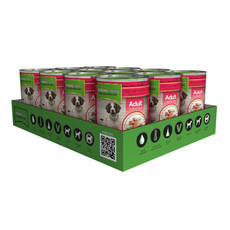 Natures Menu Natural Cans For Dogs With Beef And Chicken 12 X 400g