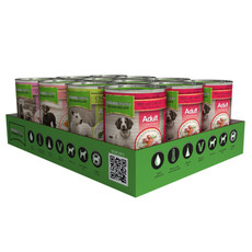 Natures Menu Natural Cans For Dogs Multipack 12x400g