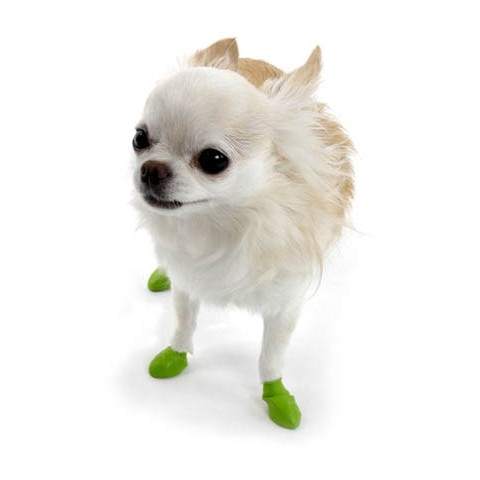 Pawz Natural Rubber Waterproof Resusable Dog Boots Tiny