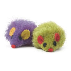 Furry Mice Cat Toy  To 24 X