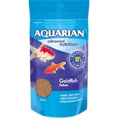 Aquarian Goldfish Pellet Food 28g