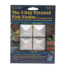3-day Pyramid Fish Feeder