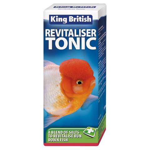 King British Revitaliser Tonic 100ml To 3 X 100ml