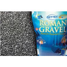 Aquatic Roman Gravel Jet Black 2kg To 6 X 2kg