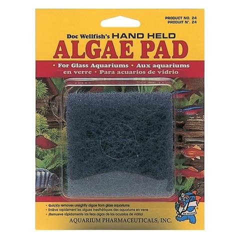 Doc Wellfish's Hand Held Algae Pad For Glass Tanks