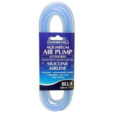 Aqua Silicone Airline Tubing Blue 2 Metres