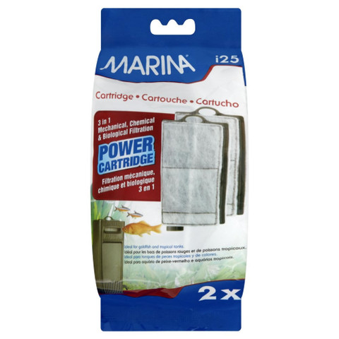 Marina Filter 3 In 1 Power Cartridge I25
