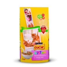 Go Cat Complete Kitten Food With Chicken And Milk 2kg