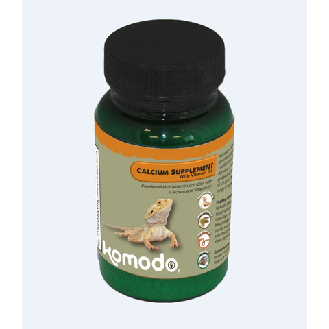 Komodo Calcium Supplement With Vitamin D3 105g