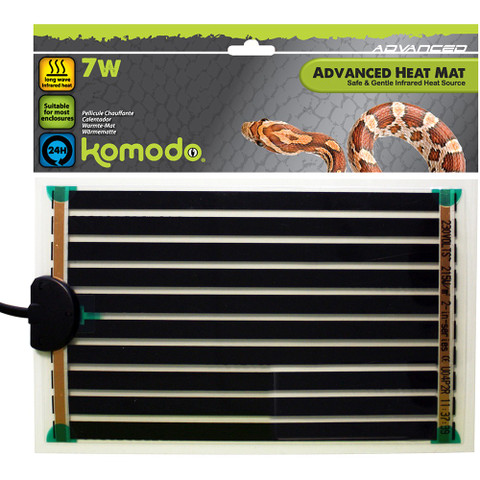 Komodo Advanced Heat Mat 142x274mm 7w