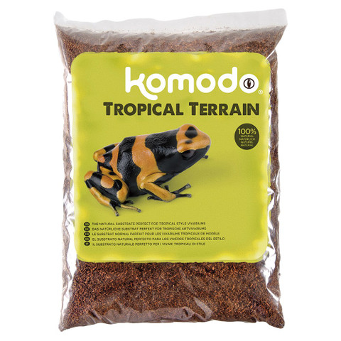 Komodo Tropical Terrain Natural Substrate 6 Litre