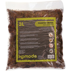 Komodo Habitat Moss Natural Substrate 1.5 Litre