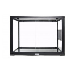 Komodo Reptile Glass Terrarium Habitat Front/top Open 30x30x30cm