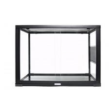 Komodo Reptile Glass Terrarium Habitat Front/top Open 30x30x45cm