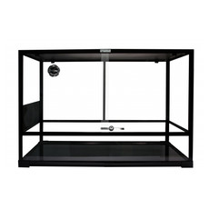 Komodo Easy Assemble Glass Terrarium 90x45x60cm