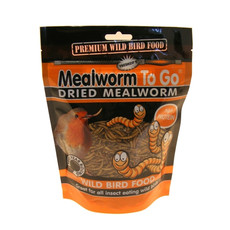 Wild Bird Natural Dried Mealworms To Go 100g