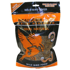 Wild Bird Natural Dried Mealworms To Go 500g
