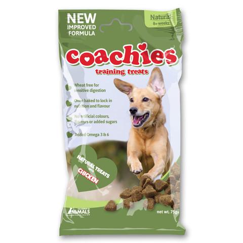 Coachies Natural Dog Training Treats 75g
