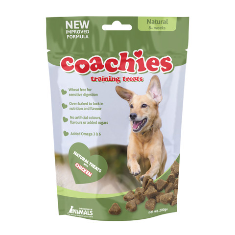 Coachies Natural Dog Training Treats 200g