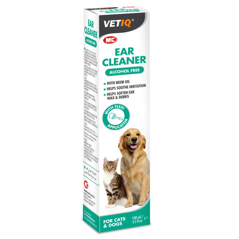 Mark And Chappell Vetiq Ear Cleaner For Dogs And Cats 100ml