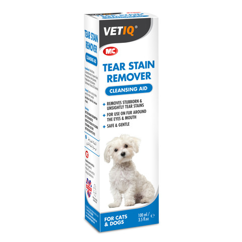 Vetiq Tear Stain Remover For Dogs And Cats 100ml
