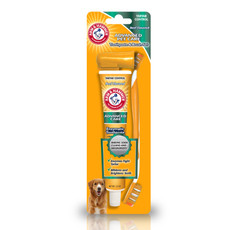 The Company Of Animals Arm And Hammer Toothbrush And Toothpaste Dental Kit For Dogs