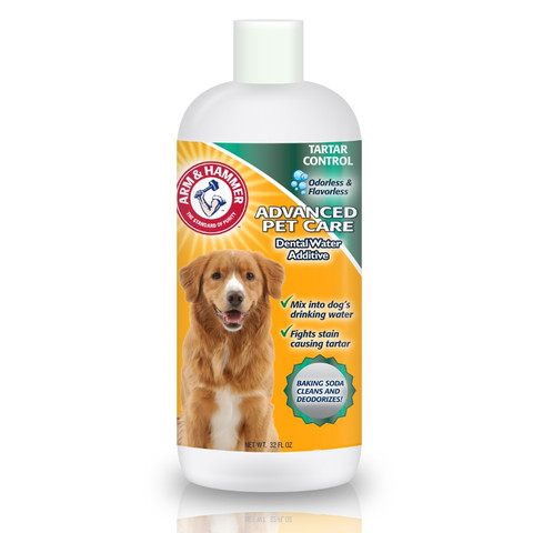The Company Of Animals Arm & Hammer Dental Rinse Water Additive For Dogs 32 Fl Oz