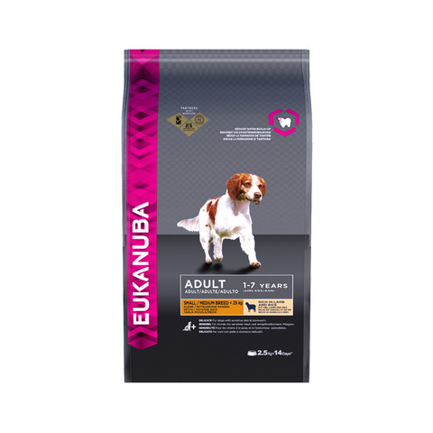 Eukanuba Adult Lamb Small And Medium Breed Dry Dog Food 2.5kg To 12kg