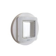 Sureflap White Cat Flap Pet Door Mounting Adapter Large