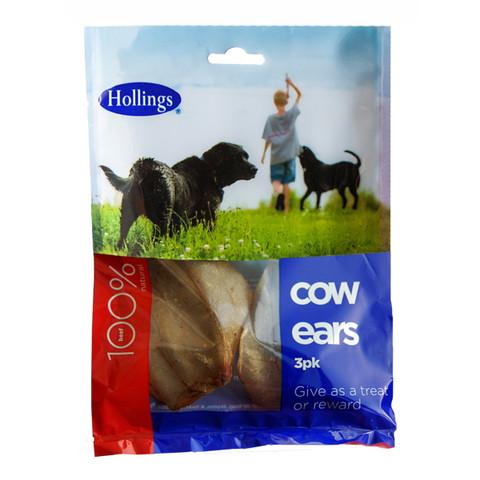 Hollings Cows Ears 3 Pack To 7 X 3 Pack