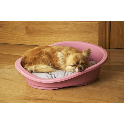 Sonny Classic 80 Plastic Dog Bed Cotton Candy Pink 79.5cm