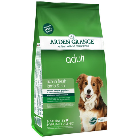 Arden Grange Adult Dog With Lamb And Rice 2kg