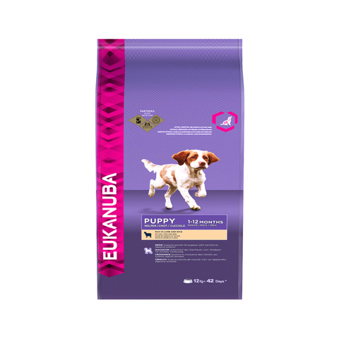 Eukanuba All Breed Puppy And Junior Puppy Dry Food 12kg To 2 X 12kg