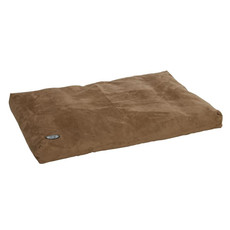 Buster Memory Foam Dog Bed In Camel 120x100cm