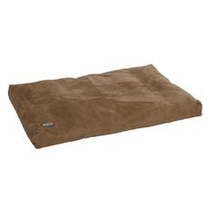 Buster Memory Foam Dog Bed In Camel 120x100cm