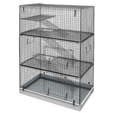 (d) Critter 3 Storey All Metal Rat And Degu Cage Large