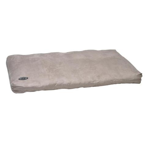 Buster Memory Foam Dog Bed In Beige 120x100cm